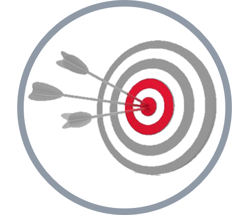 Image of target and arrows