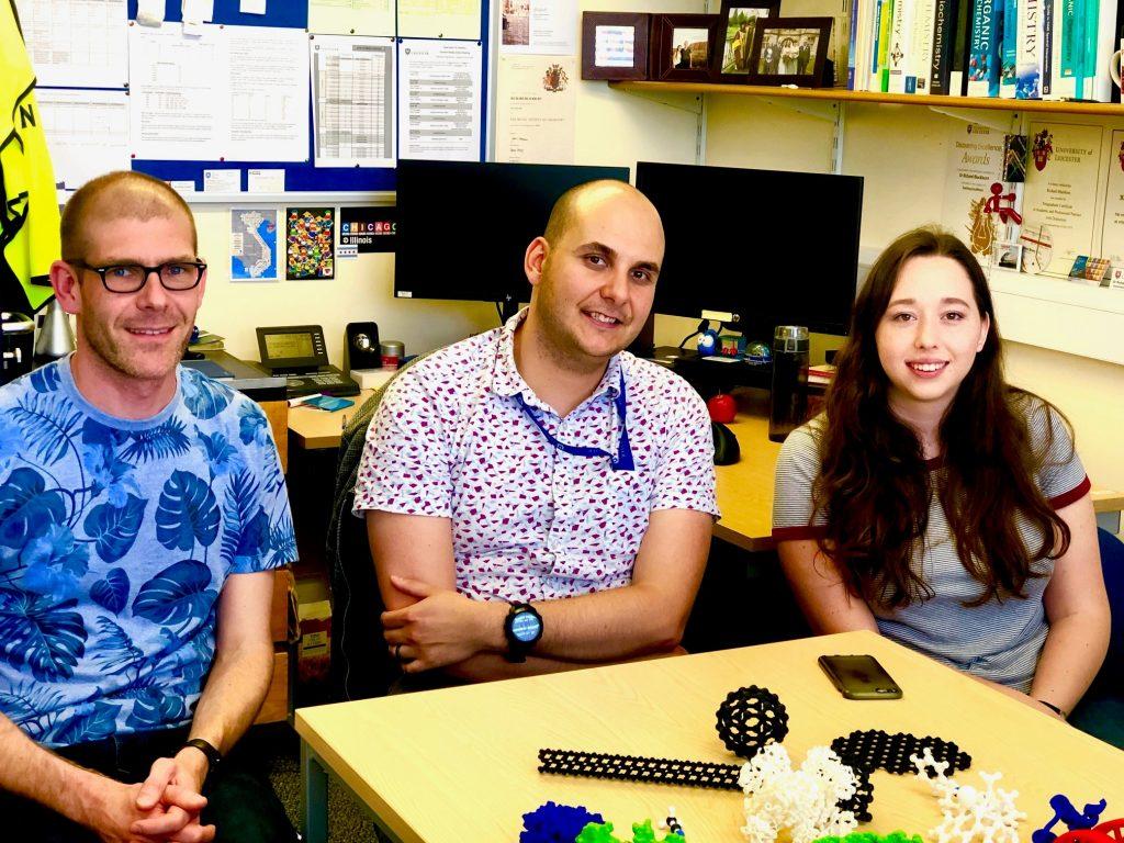 Photo of Rob Britton, Richard Blackburn and Charlotte Dickenson